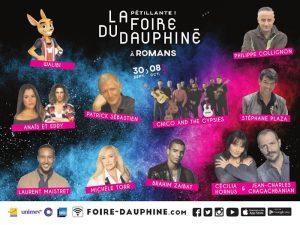 Magiline à la Foire du Dauphiné à Romans